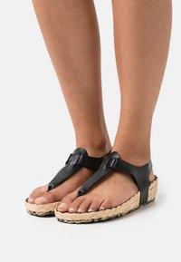MAHONY - T-bar sandals - black - 0
