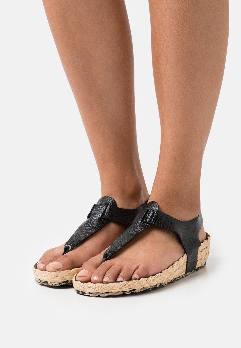 MAHONY - T-bar sandals - black