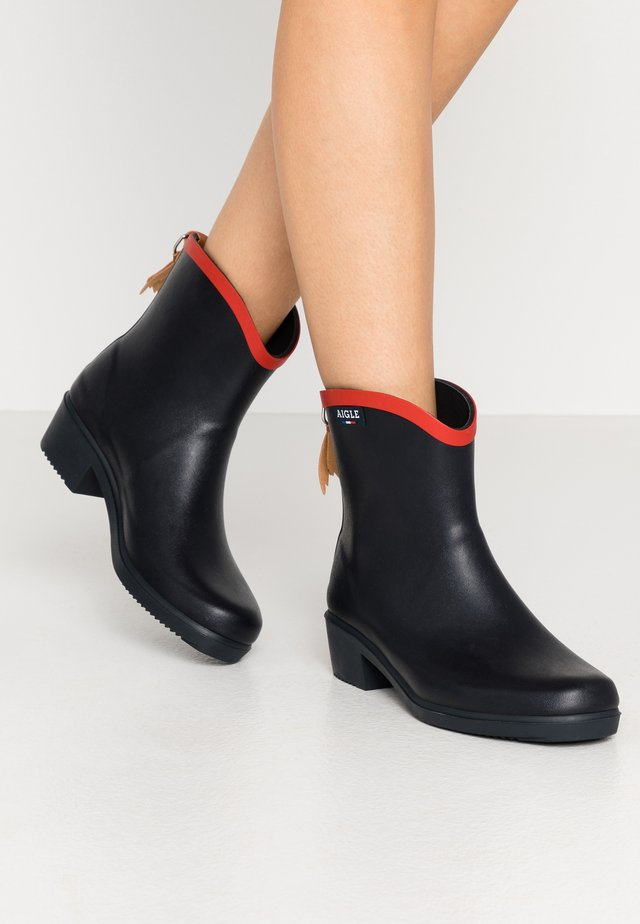 MISS JULIETTE  - Wellies - marine/rouge