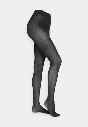 PERNILLE DOTS - Tights - black