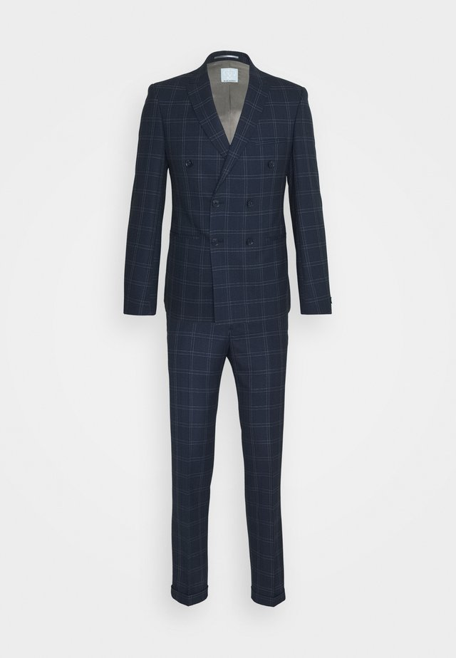 TENN DOUBLE BREASTED SUIT - Oblek - navy