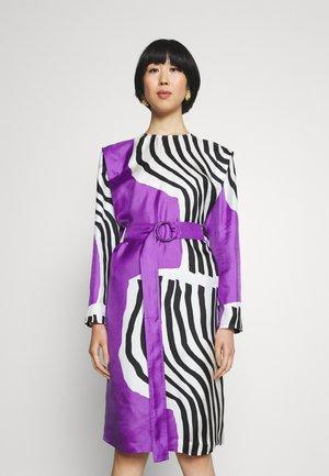RAUTIAS VUOLU DRESS - Cocktail dress / Party dress - violet/offwhite/black