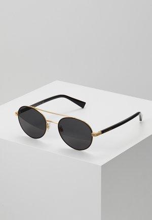 Solbriller - gold-coloured/matte black