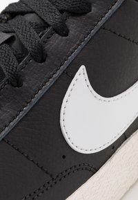 Nike Sportswear - BLAZER - Trainers - black/white/sail/light brown - 2