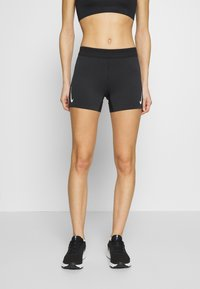 Nike Performance - AEROSWIFT SHORT - Tights - black/white - 0