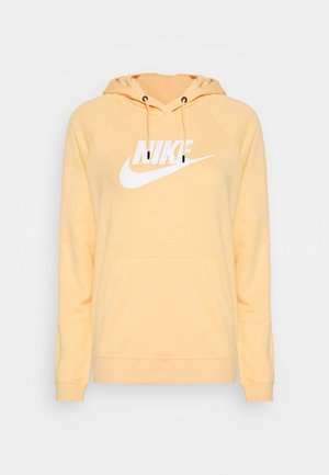 HOODIE - Mikina s kapucí - orange chalk/white