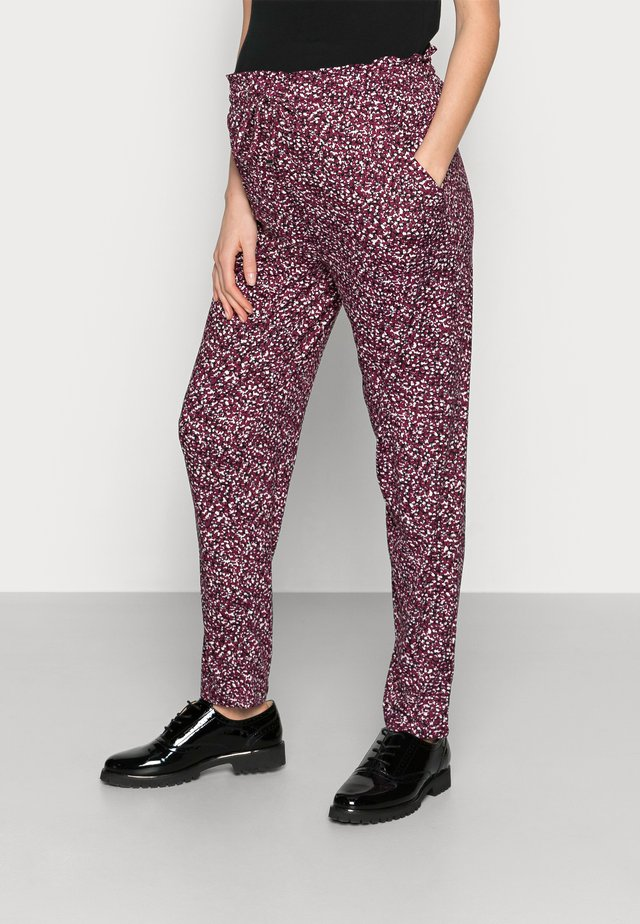 SOFT TOUCH  - Trousers - red