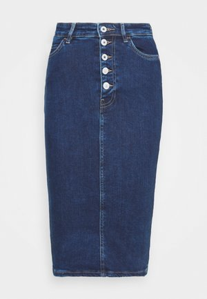 80S LONGUETTE - Denim skirt - so chic