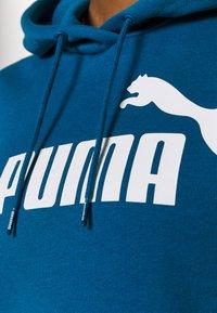 Puma - LOGO HOODY - Jersey con capucha - digi blue - 6