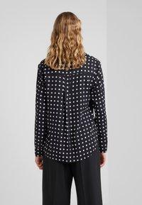Bruuns Bazaar - BONNE FILIPPA - Button-down blouse - black - 2