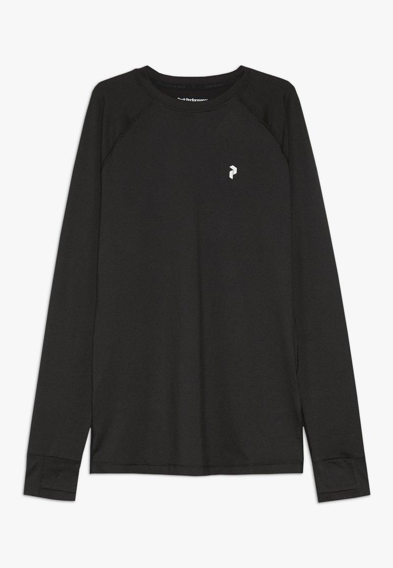 Peak Performance - T-shirt à manches longues - black