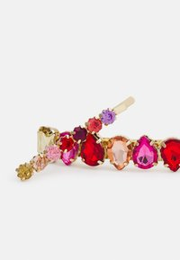 Pieces - PCHINDY HAIRCLIP 2 PACK - Hair Styling Accessory - gold colour/red/multi - 2