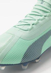 Puma - ONE 20.1 FG/AG - Kopačky lisovky - mist green/high rise/dark denim - 5