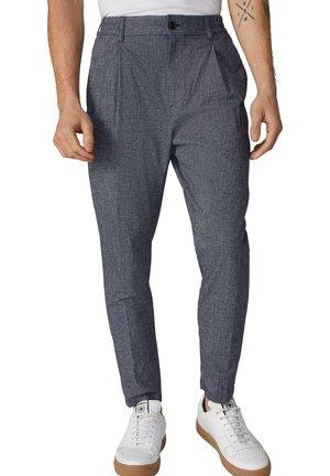 BASHY - Trousers - dunkelblau meliert