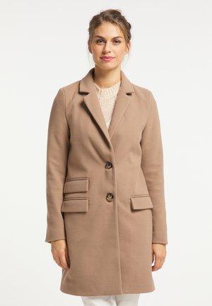 Classic coat - kamel