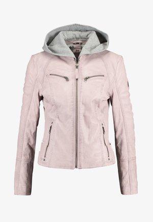 NOHLA - Leather jacket - pink