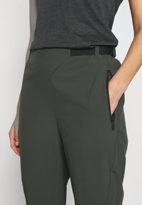adidas Performance - HIKE TECHNICAL HIKING PANTS - Stoffhose - dark green - 6