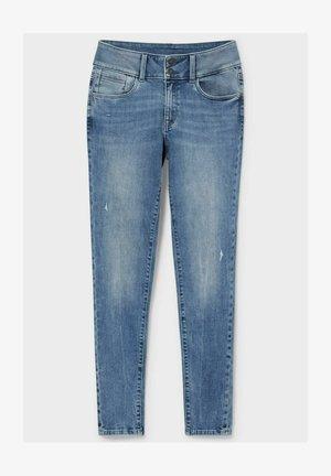 Jeans Skinny Fit - light blue denim