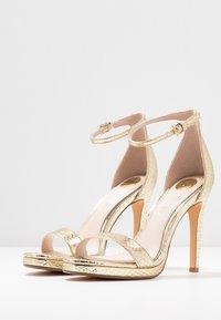 Buffalo - JANNA - High heeled sandals - gold - 4