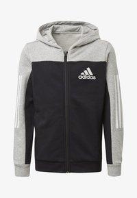 adidas Performance - SPORT ID HOODIE - Zip-up hoodie - grey - 0