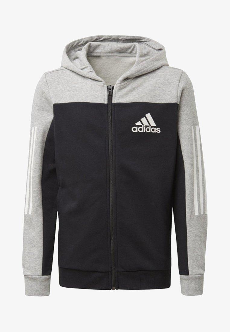 adidas Performance - SPORT ID HOODIE - Zip-up hoodie - grey
