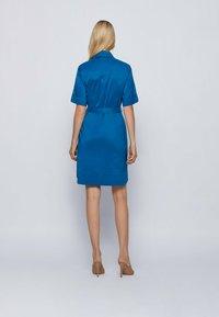 BOSS - DASHILO - Shirt dress - open blue - 2