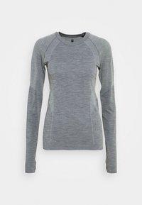 Sweaty Betty - ATHLETE SEAMLESS WORKOUT - Sports shirt - charcoal grey - 4