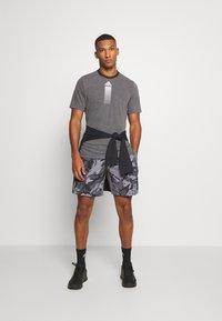 adidas Performance - AEROREADY TRAINING SPORTS SHORT SLEEVE TEE - T-shirt print - grey - 1