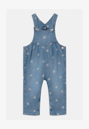 UNISEX - Salopette - light wash indigo