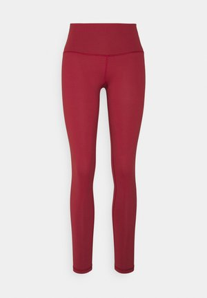 LONG TIGHT TIGHTS - Leggings - Trousers - red earth