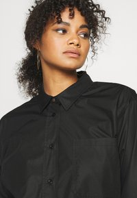 Kaffe Curve - CLONE SHIRT - Button-down blouse - black deep - 3