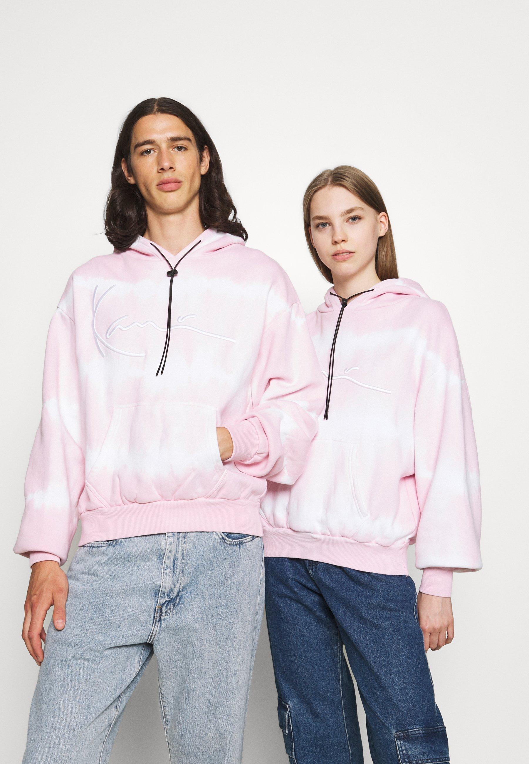 Men SIGNATURE TIP DYE HOODIE UNISEX  - Zip-up sweatshirt