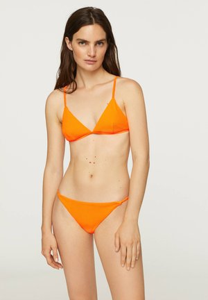 FLUORESCENT STRAPPY BRAZILIAN BRIEFS - Bikini bottoms - orange