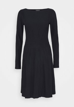 DRESS - Jumper dress - blu navy