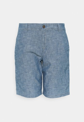 BERMUDA - Shorts - indigo chambray