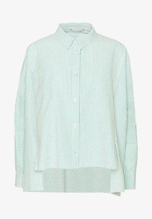 SON - Button-down blouse - light green