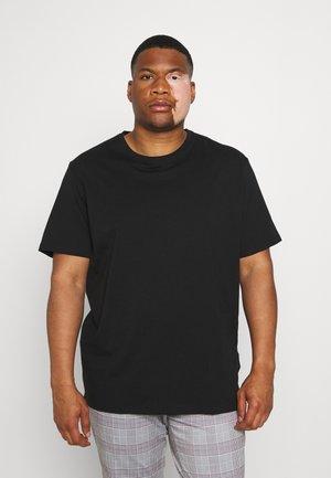 ESSENTIAL CREW NECK TEE - Basic T-shirt - black