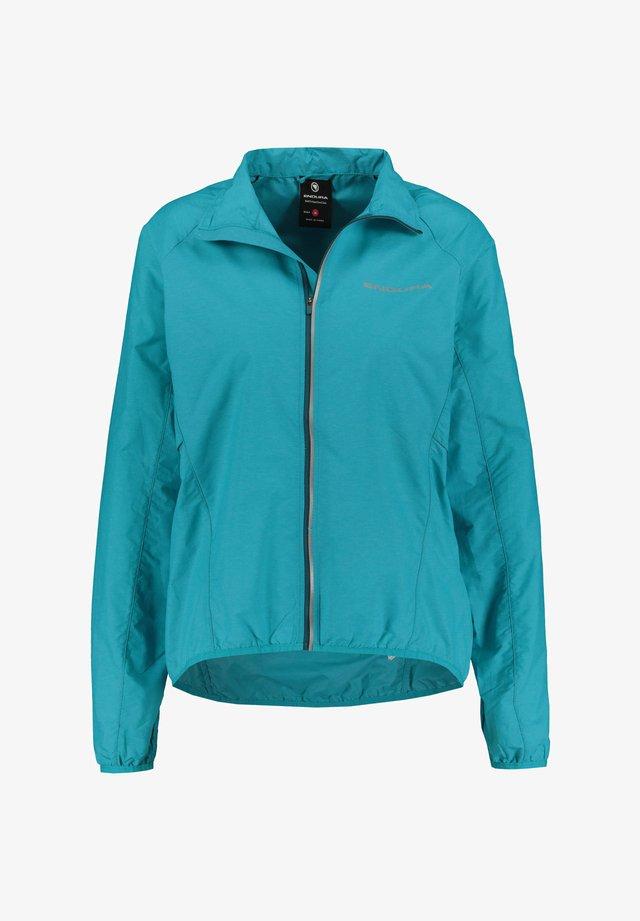 "ENDURA DAMEN RADSPORTJACKE ""PAKAJAK"" - Training jacket - blue (82)"