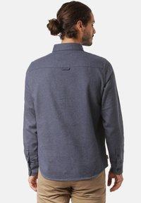 Mazine - Overhemd - navy mel - 3