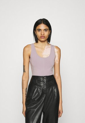 ASSETS SCULPTED SEAM BODYSUIT - Top - mauve