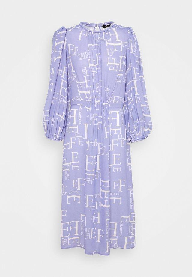 Sukienka letnia - lavanda/burro