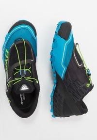 Dynafit - FELINE SL - Trail running shoes - asphalt/methyl blue - 1