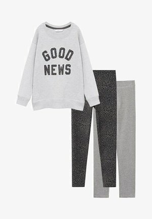 3PACK - Sweatshirt - light heather grey
