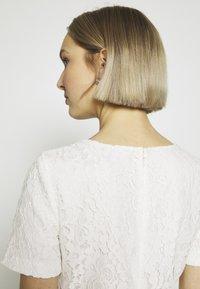 Lauren Ralph Lauren - PIAZZA FLORAL  - Robe de soirée - cream - 3