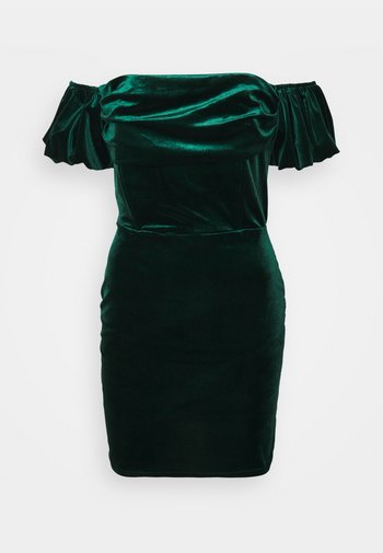 ANIKA DRESS - Vestito elegante - dark green