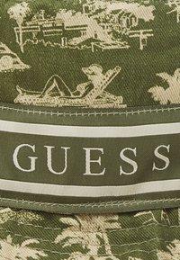 Guess - BUCKET HAT UNISEX - Klobouk - green - 3