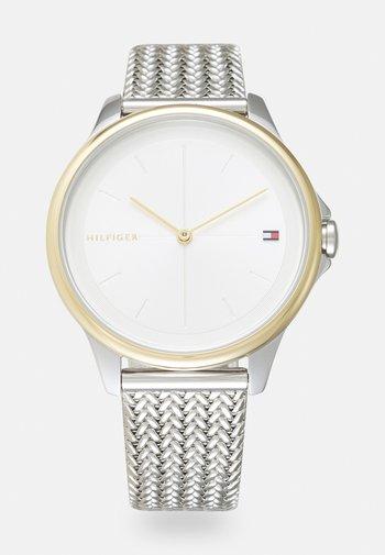 DELPHINE - Watch - silver-coloured/white