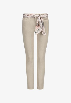 CAMBIO - Jeans Skinny Fit - dunkles beige