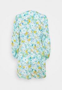 River Island Petite - KENDRICK WRAP MINI DRESS - Korte jurk - blue - 1