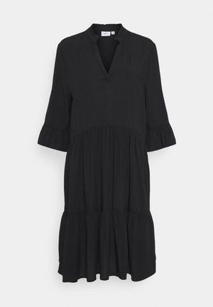 EDASZ SOLID DRESS - Day dress - black